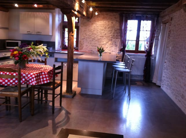 Bougy-lez-Neuville的民宿