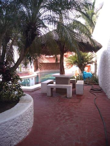 Casa Playa Novillero with a view