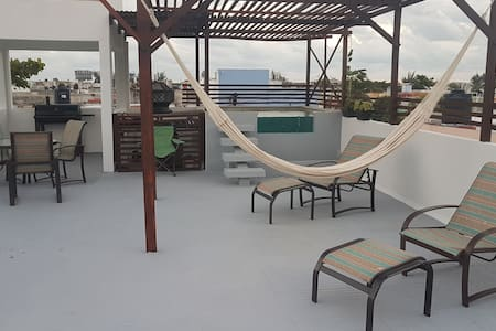 (3) EXCELENT NEW APARTMENTS WITH ROOF SUNDECK&POOL