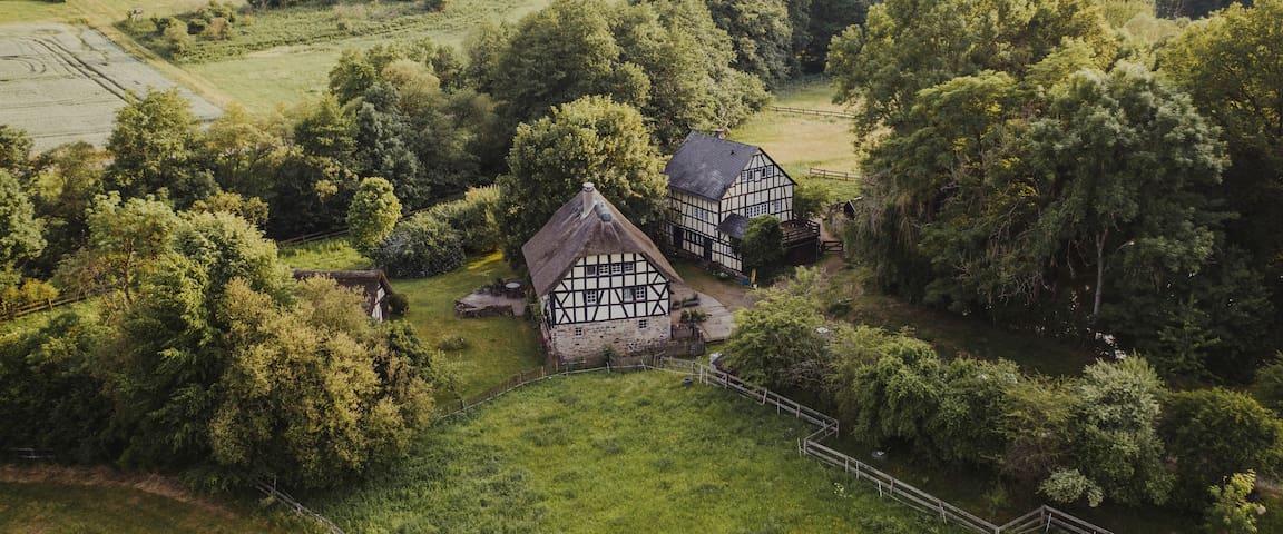 Historische Mühle - Scheunenloft