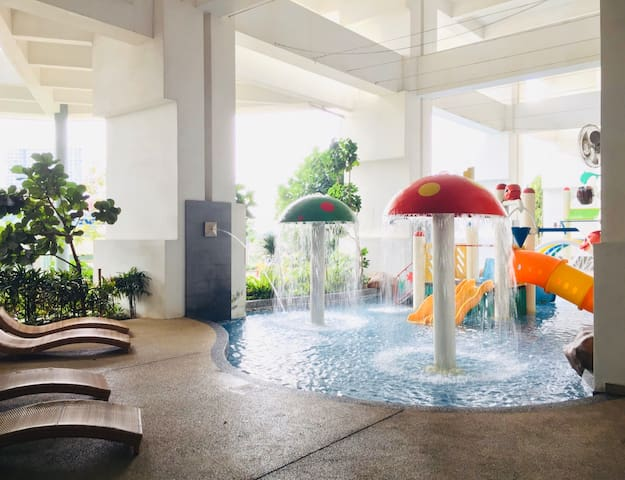 ❤️Holistay【V-Suite】【Kid's 🍄Water Park 🌊🎠⛲️🎢🎡】😍😍