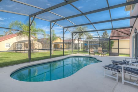 Near Disney Spacious Home 8 guests Private pool!