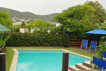 Bungalows /Cabaña With climated swimming pool