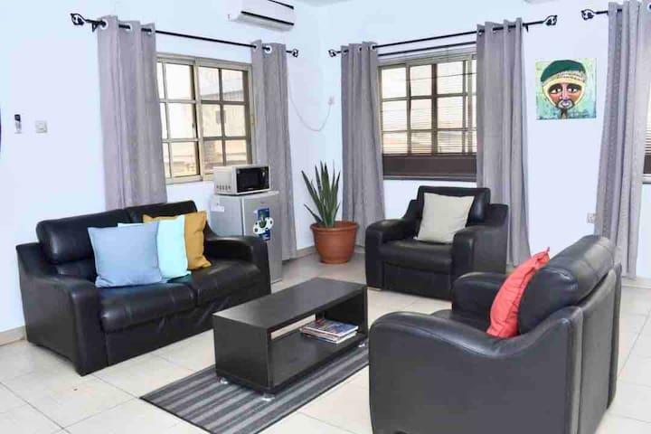 ARO|Apartments: Ensuite 2 Bed Flat (Ogba, Ikeja)