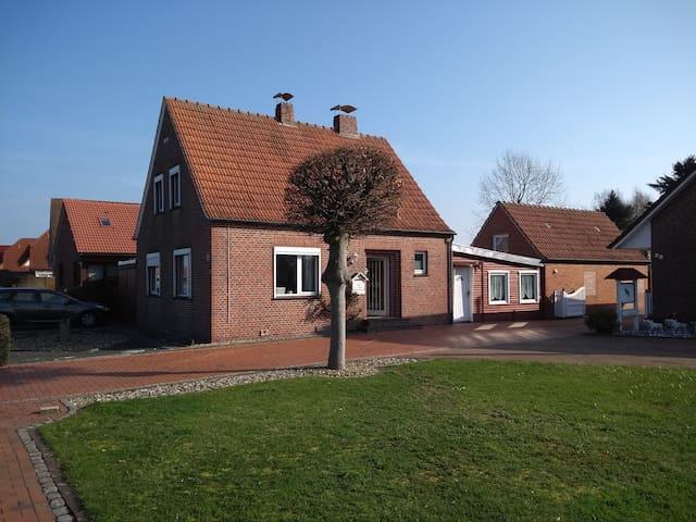 Ferienhaus RoCa - Nähe zur Nordsee / Oase der Ruhe