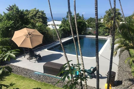 Big Island Ohana with Pool and Ocean Views