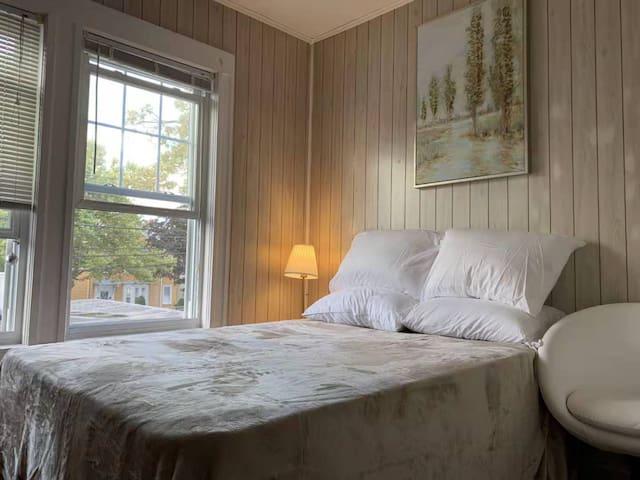 Bedrooms (#D) Adjacent to Harvard/MIT走路到哈佛