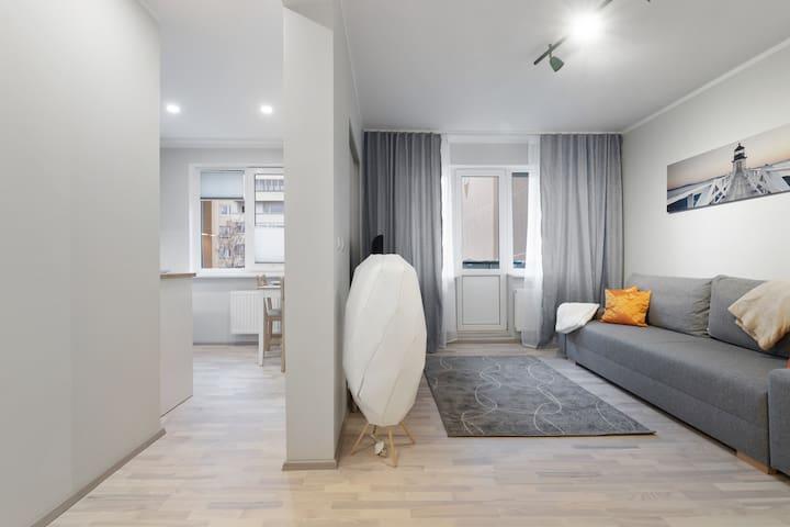 Modern fully equipped apartment next Talltech