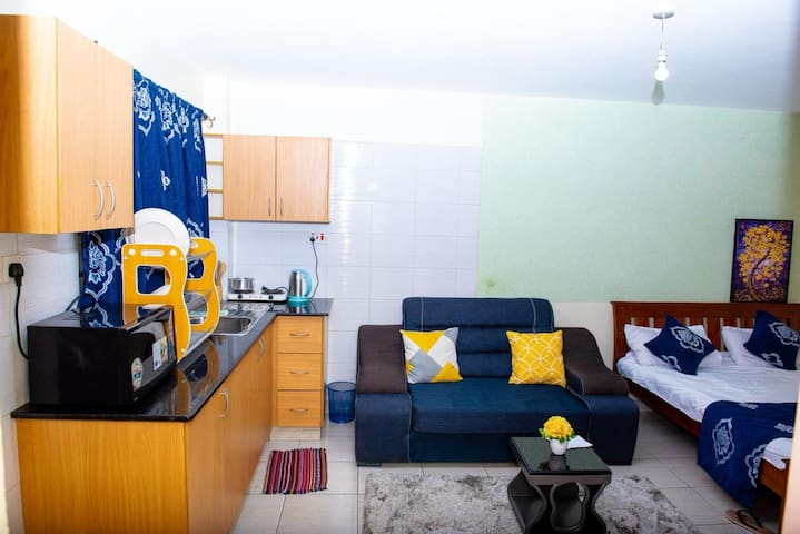 NAIROBI CBD-EXECUTIVE STUDIO APARTMENT INSIDE TOWN