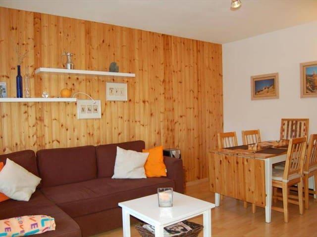 Appartement cosy avec belle vue dégagée à Vercorin