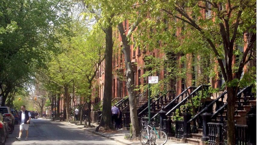West village private one bedroom apartment.