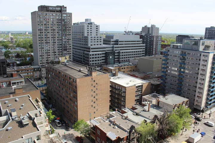 Magnificent View of Montreal West and Mount Royal!