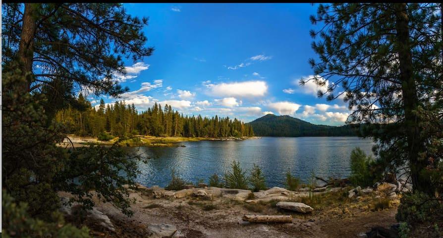 巴斯湖的民宿