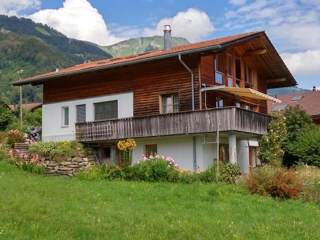 Spacious Chalet with a View