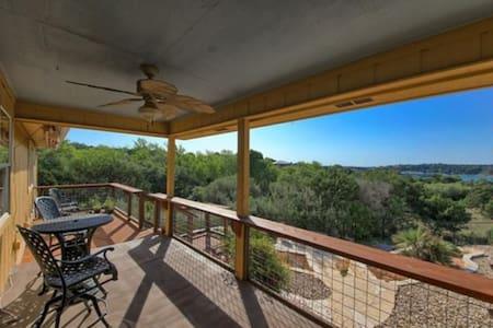 Lake Travis home with a lake view!