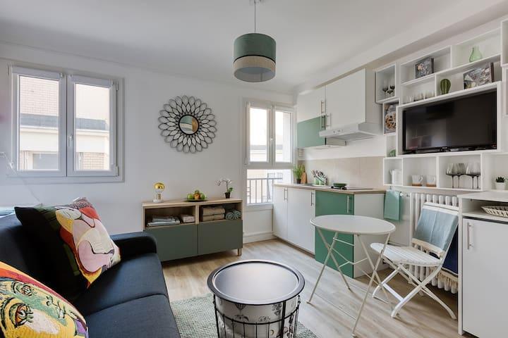巴黎的民宿