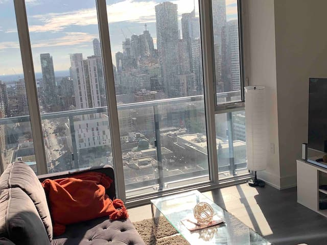 Bedroom with Private Bath in Condo DowntownToronto