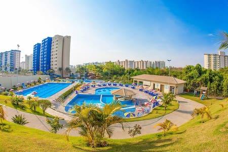 Flat at Golden Dolphin Hotel Caldas Novas - Goiás