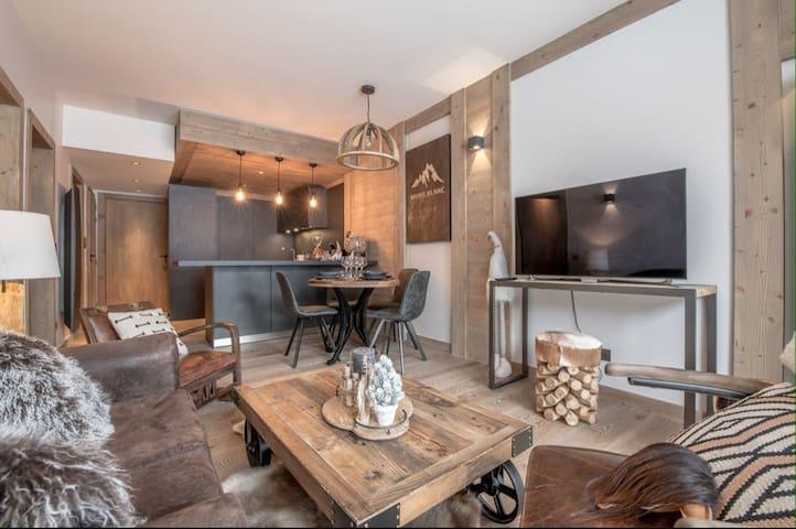 Appartement au pied des pistes à Courchevel