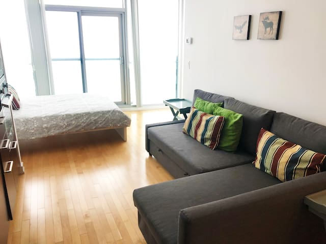 ice iHost bachelor suite fully furnished Toronto