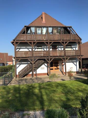 App. am Harz für Urlauber/Biker/Pferdefreunde