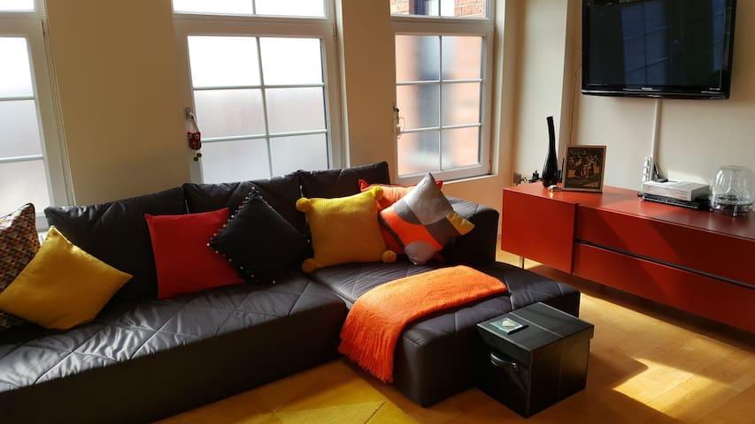 Luxurious factory conversion apartment Northampton