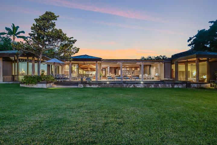 Glamorous Mondavi Family Estate Home, Fairways South #18 at Mauna Kea Resort