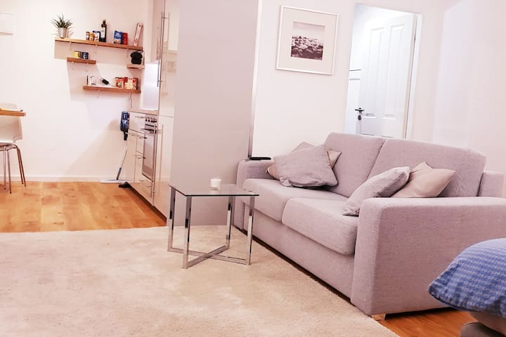 stylish cozy and central located studio-apartment