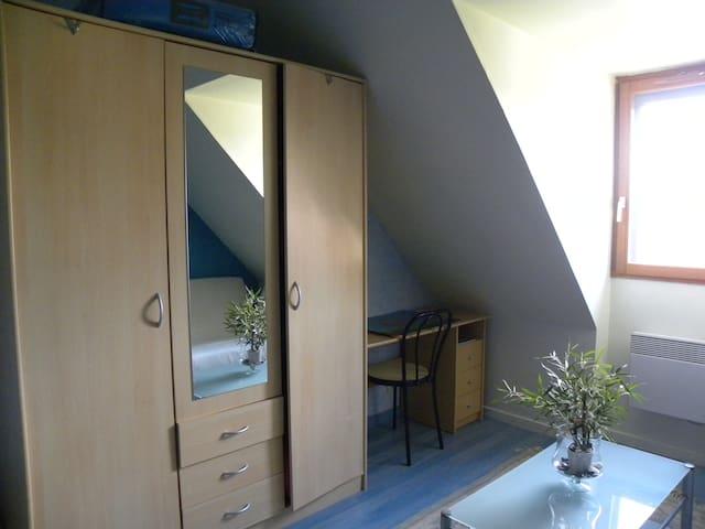 chambre dans maison individuelle très calme
