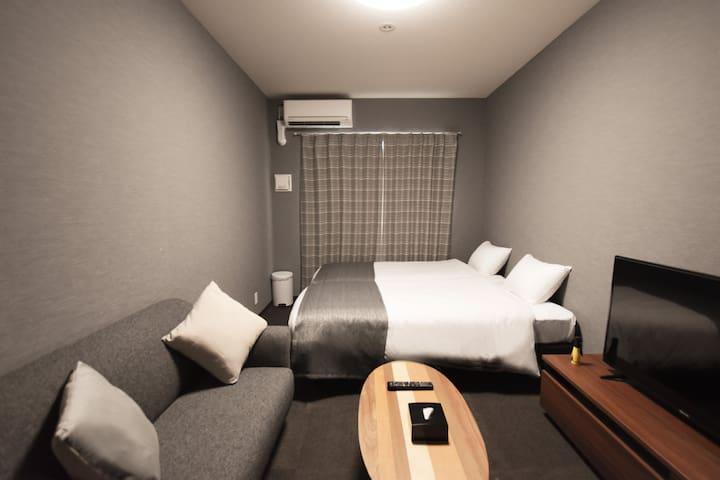 京都站徒步10分钟♪Randor Residence Kyoto Classic 豪华双床房