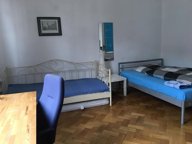 Room close to Fair/Messe, University and City