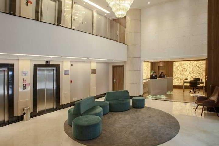 Excelente Flat Itaim Hotel 5 * c/ arrumação