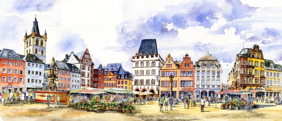 Trier的民宿