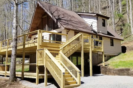 River Rock: trout stream, 11 acres, waterfall