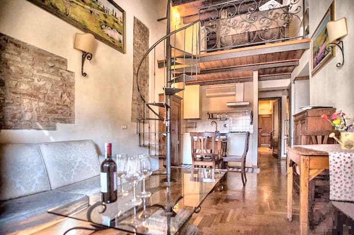 ✰ Loggia del Carmine ✰ House in Center of FLORENCE