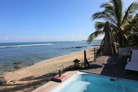 Charming bungalow 20 meters from the beach!