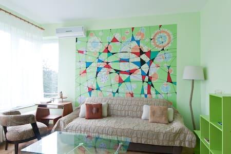 Zaimov Park Green Apartment + Free Private Garage