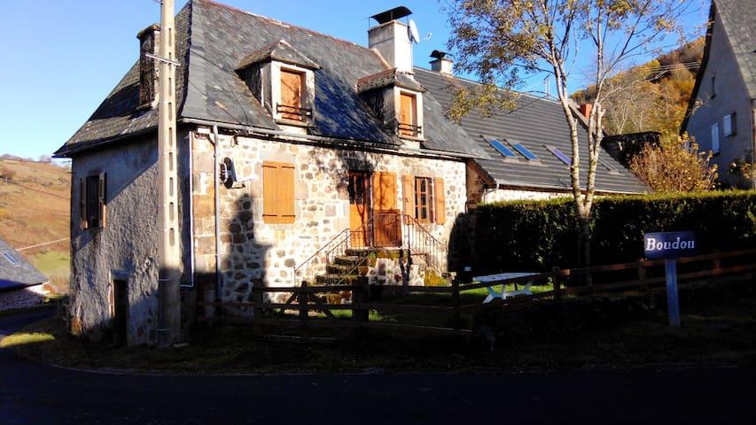 Saint-Projet-de-Salers的民宿