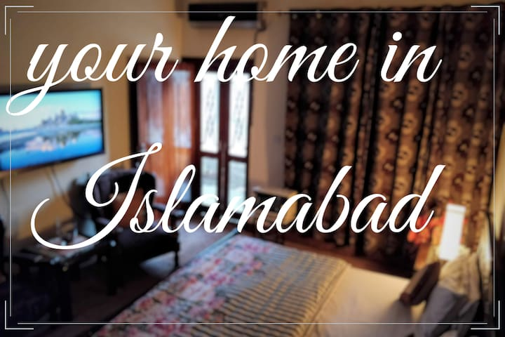 Home in ❤️ of Isb Near Serena & Marriott