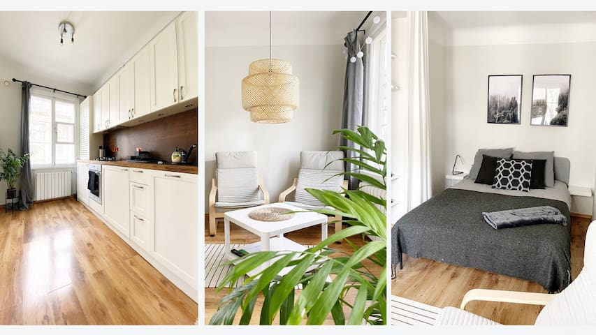 A cosy studio apartment in the heart of Tallinn