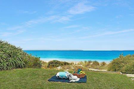 Barefoot at Callala Beach