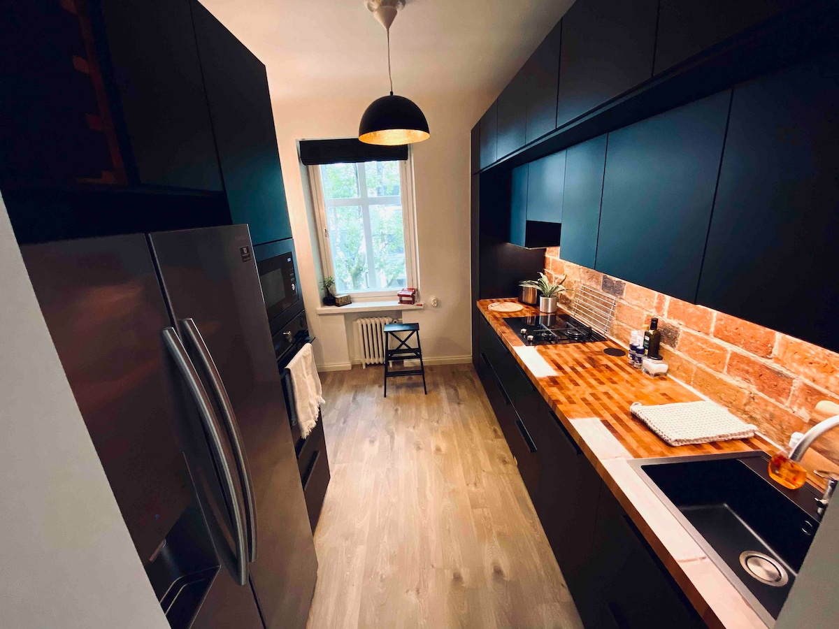 Apartment In the Heart of Turku: Private Parking!