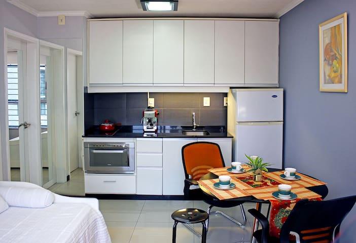 Apartamento con 1 dormitorio a 200m del mar!