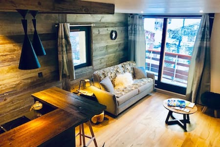 Val d'Isère, appartement rénové style chalet