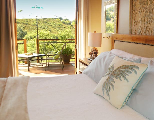 Soft Air...A Luxury suite with a view!
