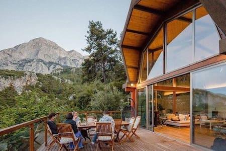 Ormanda Çiftlik Evinde Odalar Geyikbayırı Antalya
