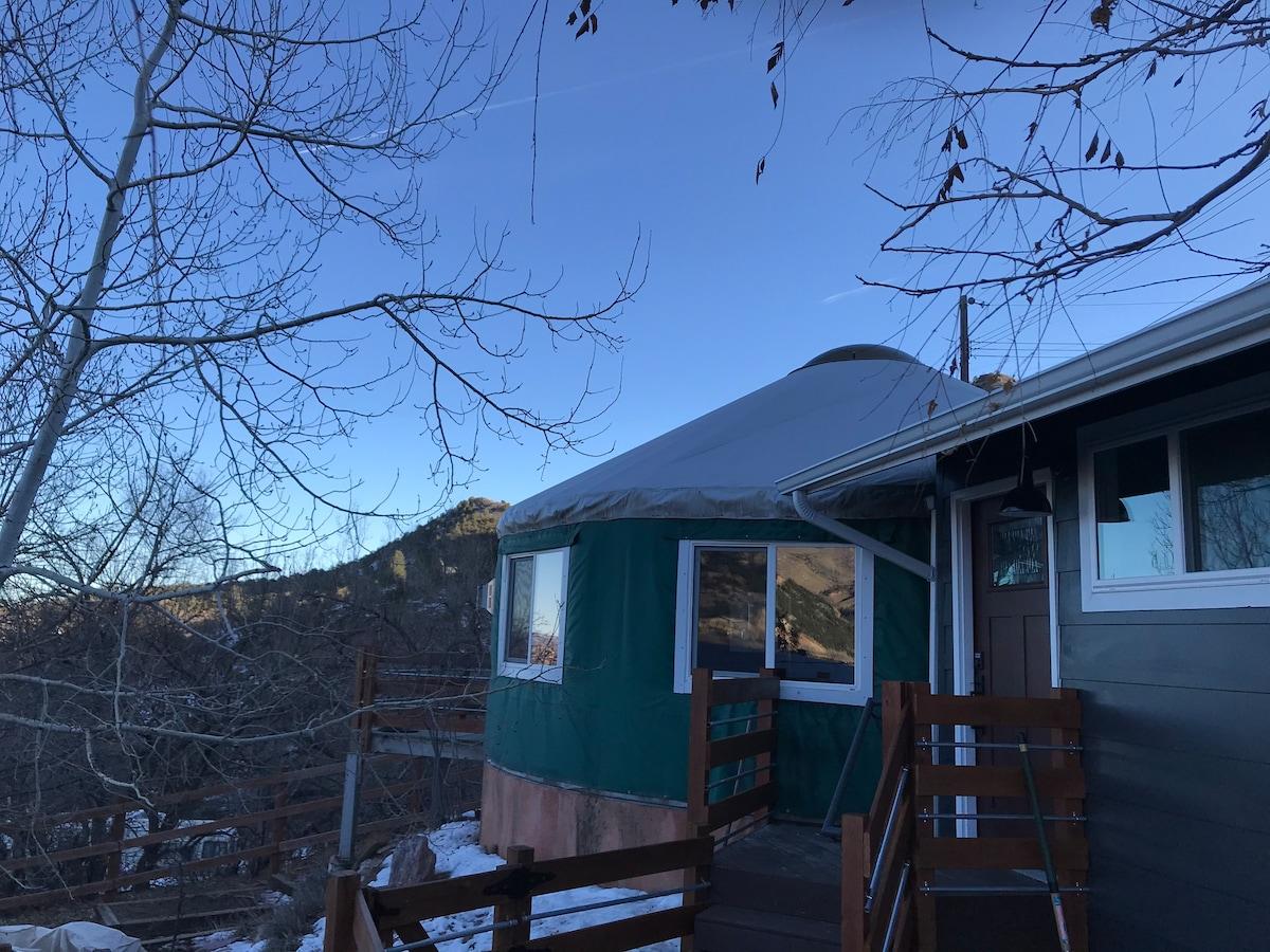 Manitou Springs Yurt