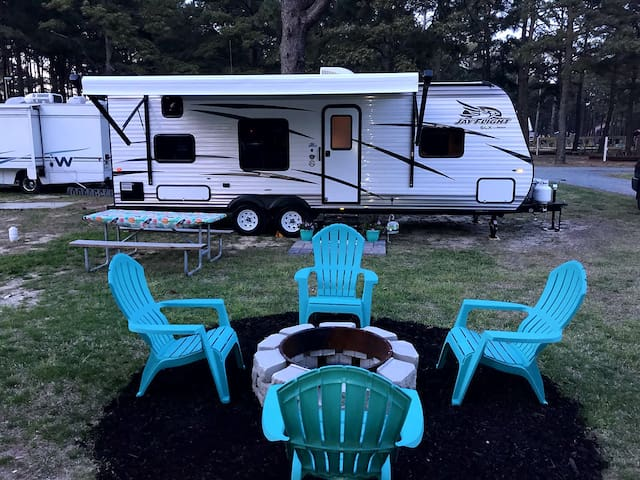 Campin' OC to Chincoteague (Campsite Included)