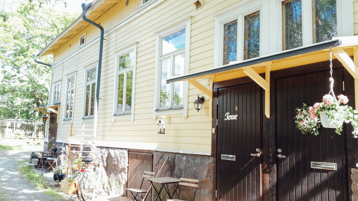 Beautiful and comfortable old wooden house