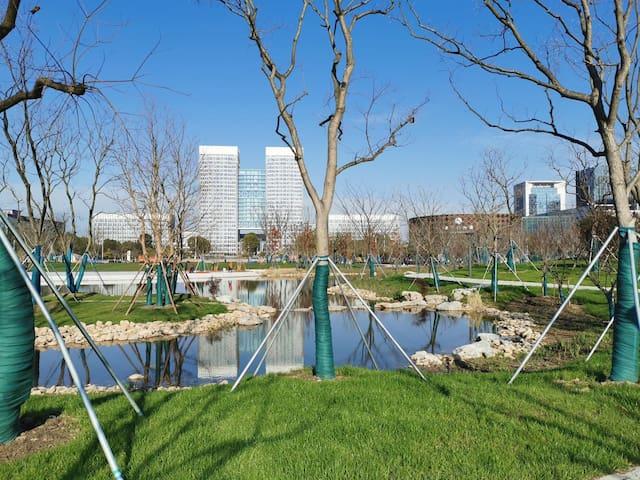 万达北复式 巨幕投影 200M宽带 近中心公园 观景